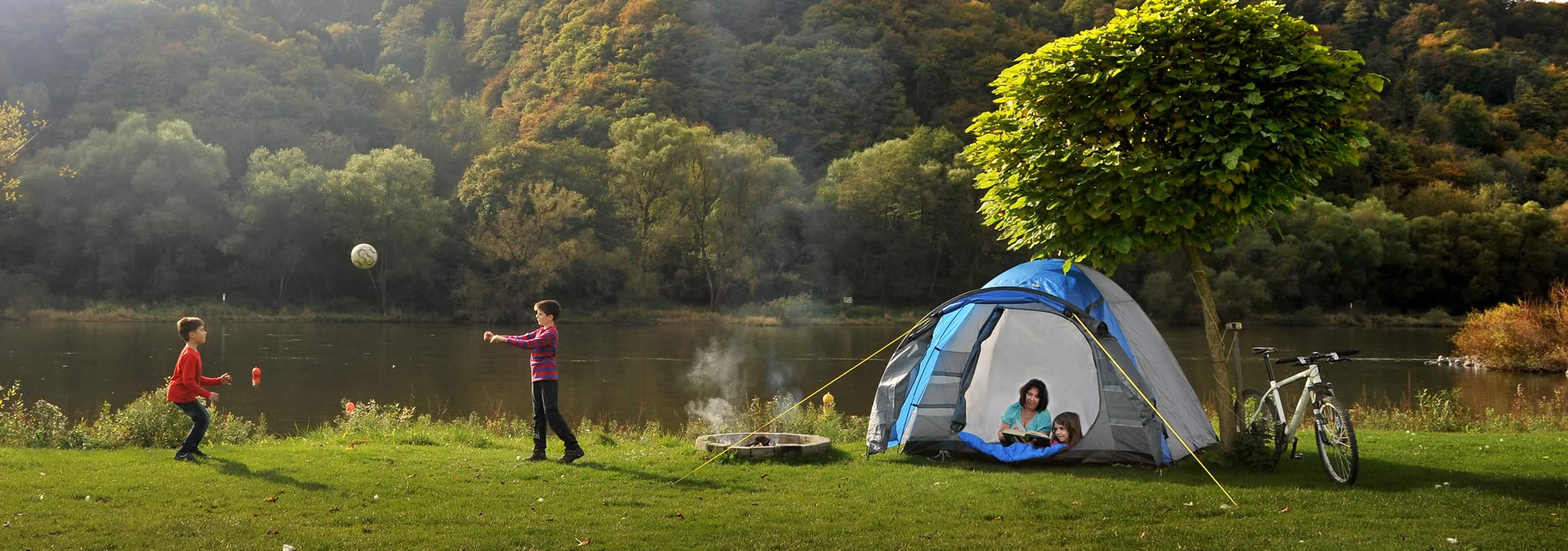 "Camping ground ""Zum Feuerberg"": Enjoy Nature - Love of life"