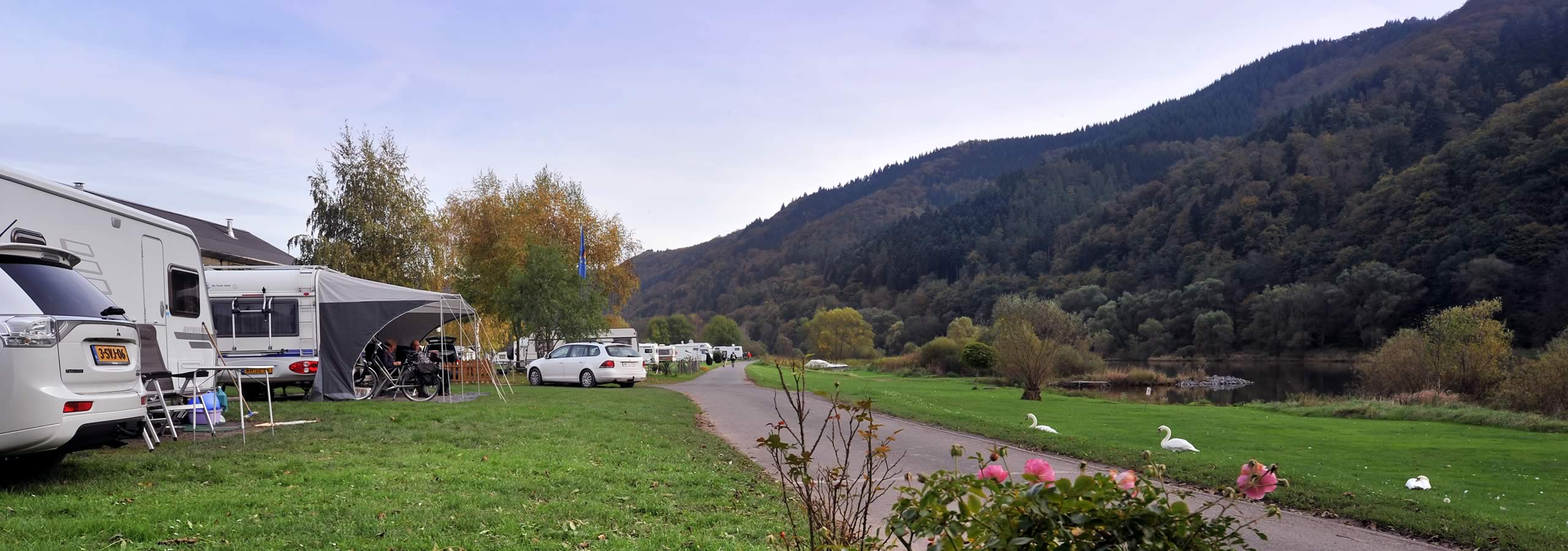 "Camping ground ""Zum Feuerberg"": Relax and feel at ease"